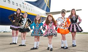 Ryanair's passenger milestone at Bratislava Airport; Ground-breaking for new Hamburg Airport Cargo Center; Ryanair's Irish dancing at Leeds Bradford