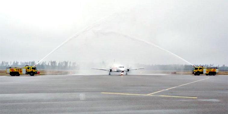 The FTWA for NextJet's Växjö to Oslo Gardermoen on 3 March.