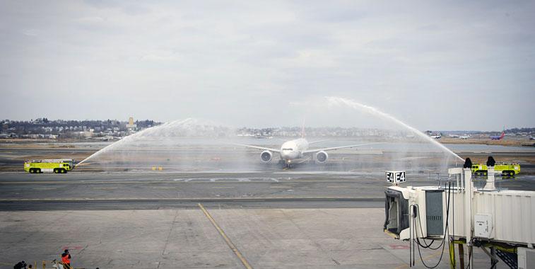 The FTWA for Emirates Dubai to Boston.