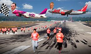 Budapest runway run latest: Jet2.com boss to race Wizz CEO on home Tarmac