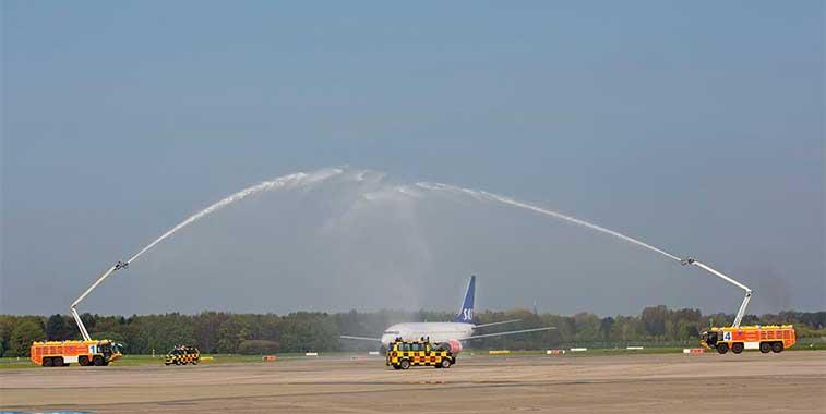 SAS Stockholm Arlanda to Hamburg 22 April