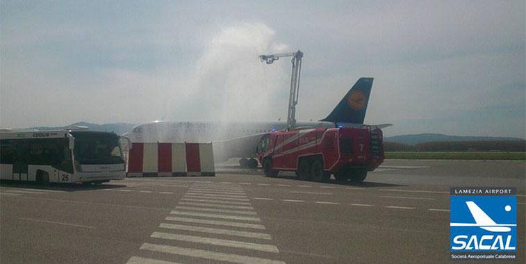 Lufthansa Munich to Lamezia Terme 12 April