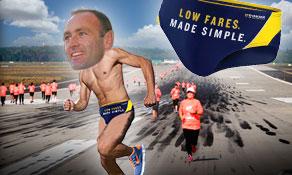 New Ryanair Chief Marketing Officer to run Budapest runway race in Speedos