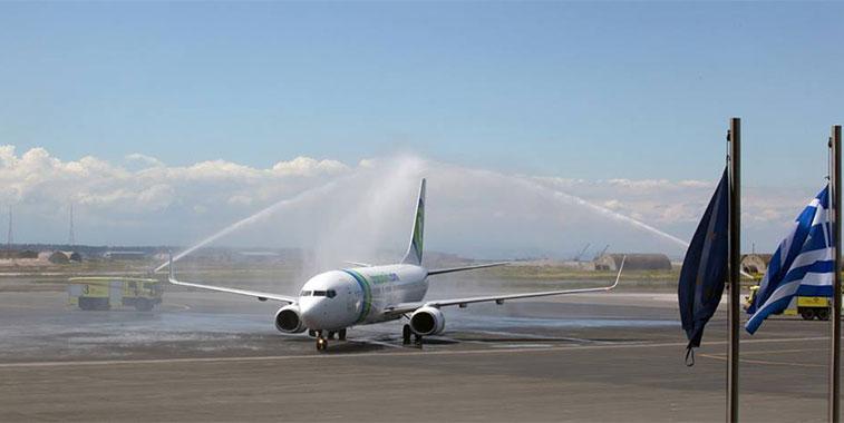 transavia.com new route - Thessaloniki