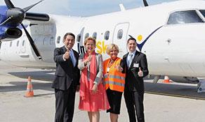 InterSky starts fourth route to Zurich