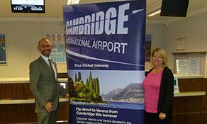 Etihad Regional connects Cambridge with Verona