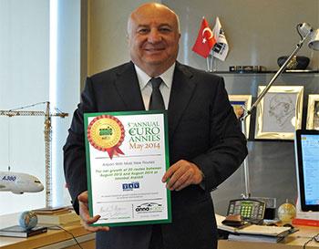 Dr Sani Şener, President and CEO TAV Airports Holding