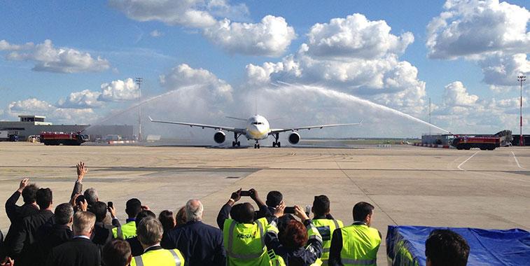 Jet Airways Mumbai to Paris CDG 14 May
