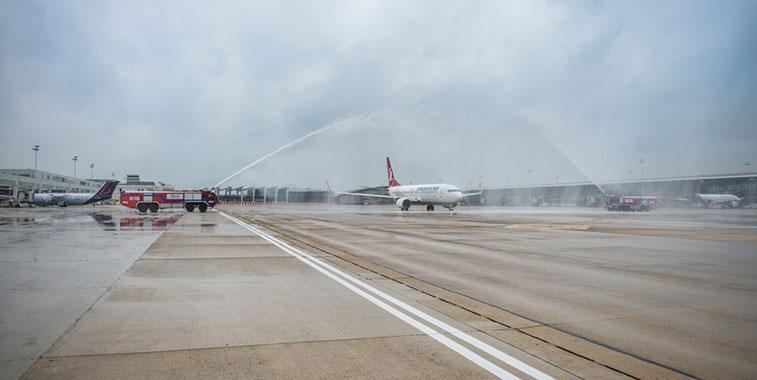 Turkish Airlines Istanbul Sabiha Gökçen to Brussels