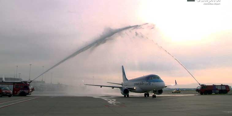 Estonian Air Växjö to Amsterdam 4 May
