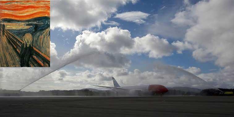 Norwegian Bergen to New York JFK