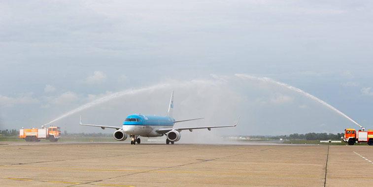 KLM Amsterdam to Zagreb