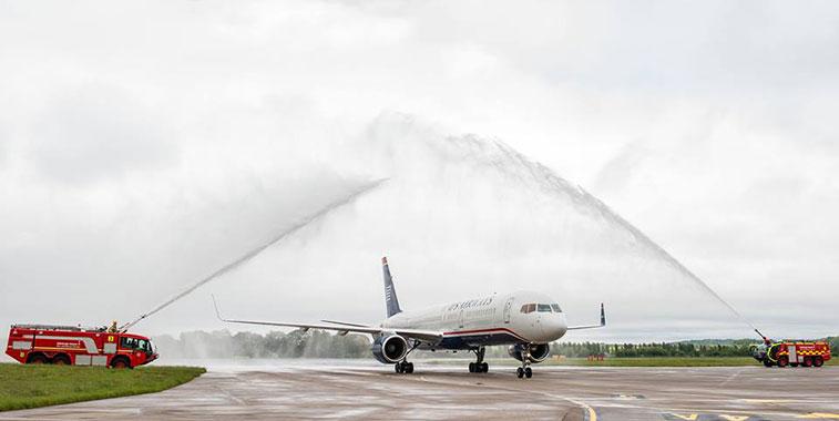 US Airways Philadelphia to Edinburgh