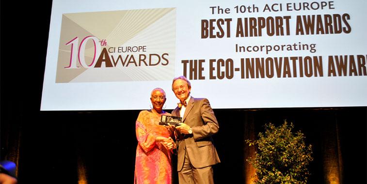 ACI EUROPE Best Airport Awards 2014 - Flughafen Stuttgart