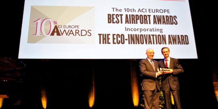 ACI EUROPE Best Airport Awards 2014 - Barcelona-el Prat Airport