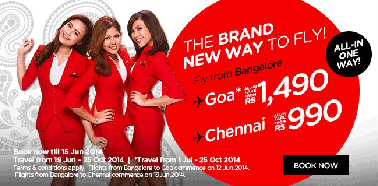 AirAsia India Ad - Bangalore