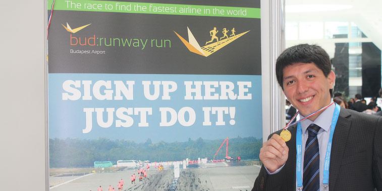 Komoliddin Mukhamedov from Uzbekistan Airways