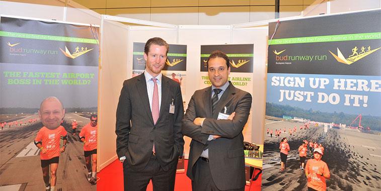 Lufthansa's Alexis von Hoenbroech, VP Commercial Frankfurt, and Julio Rodriguez Contreras, Chief Commercial Officer, Vueling.