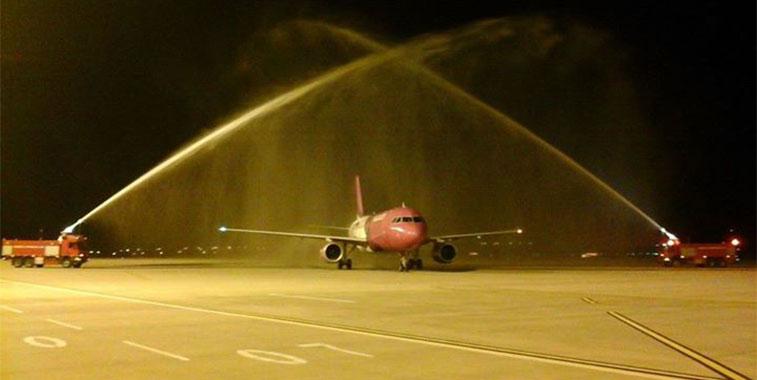 Wizz Air Sibiu to London Luton 14 June