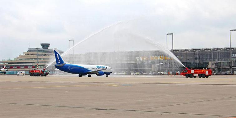 Blue Air Bucharest to Cologne Bonn 16 June