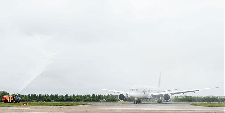 Qatar Airways Doha to Edinburgh 28 May