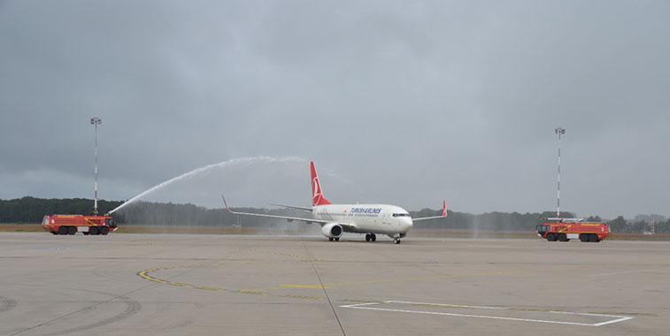 Turkish Airlines Istanbul Atatürk to Münster/Osnabrück