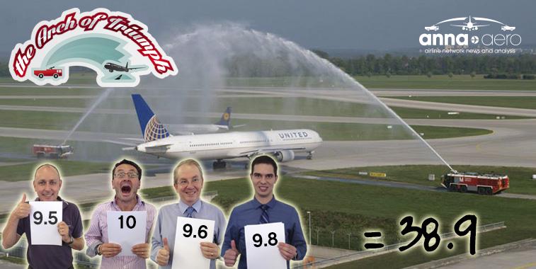 United Airlines Houston Intercontinental to Munich