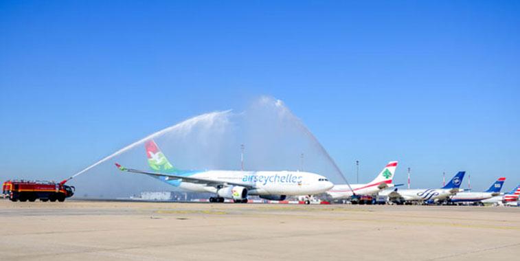 Air Seychelles Abu Dhabi to Paris CDG
