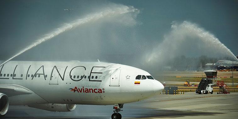 Avianca Bogota to London Heathrow