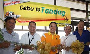 Cebu Pacific Air links Cebu with Tandag
