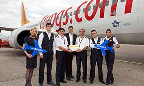 Pegasus Airlines picks Hamburg as its next destination from Sabiha Gökçen