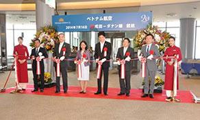 Vietnam Airlines third Tokyo Narita route is from Da Nang