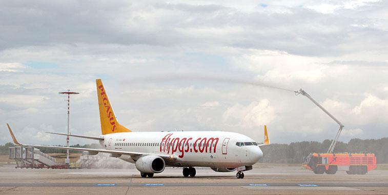 Pegasus Airlines Istanbul Sabiha Gökçen to Hamburg