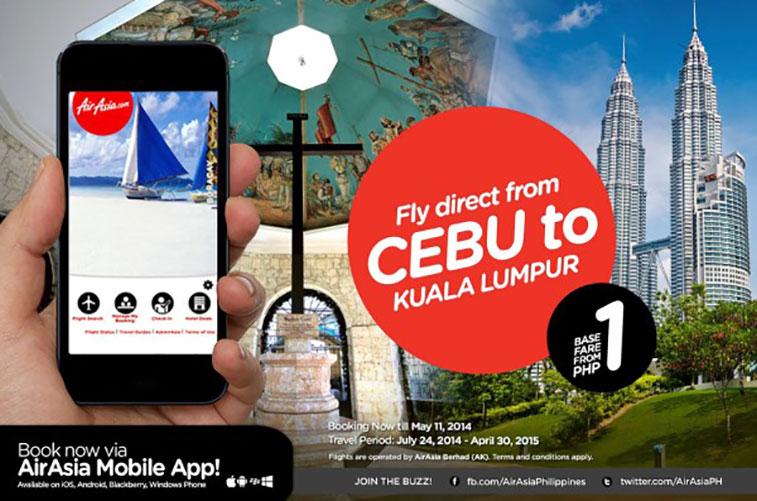 •AirAsia has started flying between Kuala Lumpur (KUL) and Cebu (CEB) in the Philippines