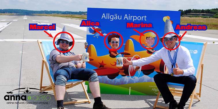 The Allgäu Airport team