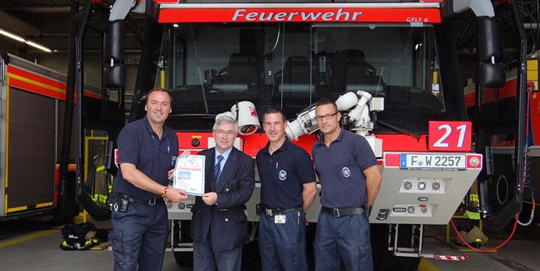 Fraport's Frankfurt Airport Fire Service