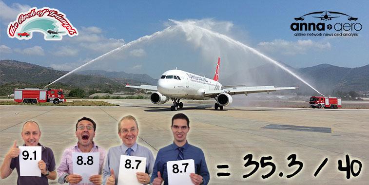 Turkish Airlines Istanbul Atatürk to Gazipaşa 25 July