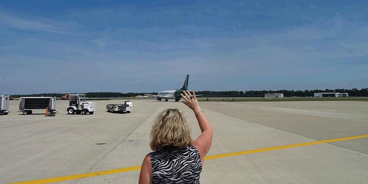 Inaugural PEOPLExpress flight