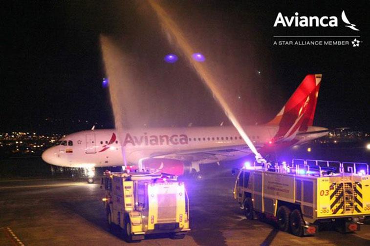 Avianca Pereira via Cartagena to New York JFK 17 July
