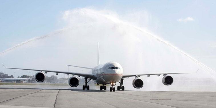 Etihad Airways Abu Dhabi to Perth 15 July