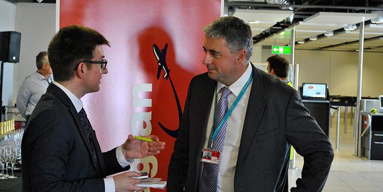 London Gatwick CEO Stewart Wingate