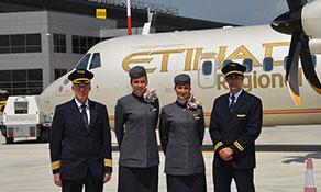Etihad Regional arrives in Kosovo