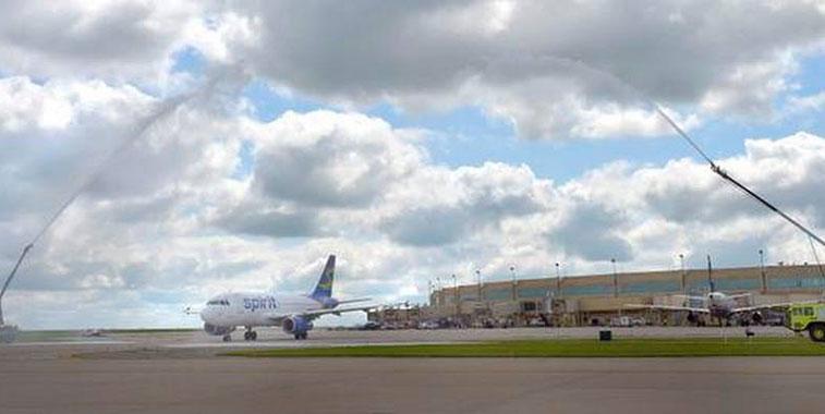 Spirit Airlines Chicago O'Hare to Kansas City