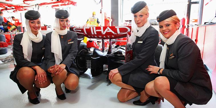 Between 2008 and 2010 Alitalia was a major sponsor of the Ferrari F1 team