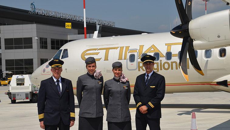 Etihad regional - Zurich to Pristina