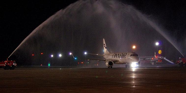 Finnair ventures to Russia