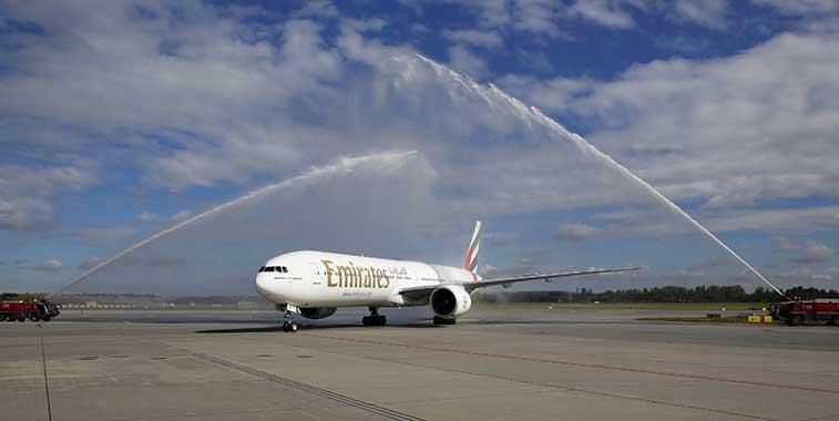 Emirates Dubai to Oslo Gardermoen