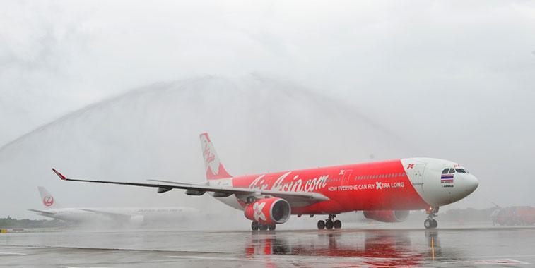 Thai AirAsia X Bangkok Don Mueang to Tokyo Narita 1 September