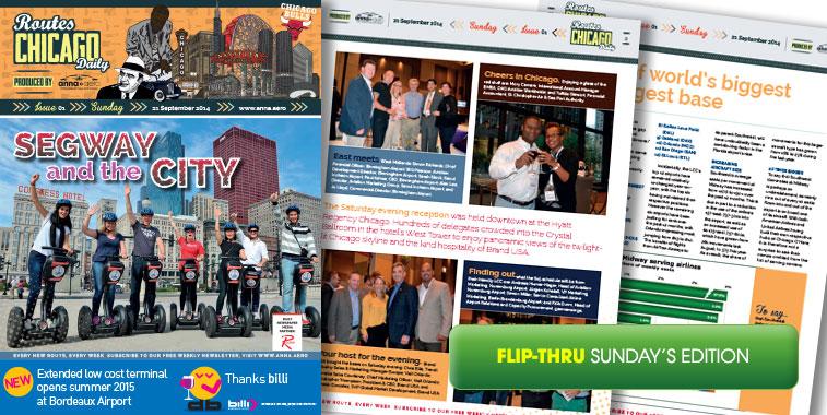 anna.aero Routes Dailies Chicago - Issue 1