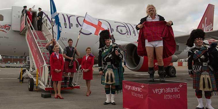 Virgin Atlantic's 'Little Red' domestic network